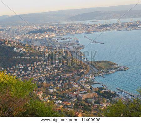 Trieste - Italy, aerial