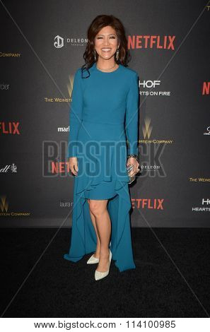 LOS ANGELES - JAN 10:  Julie Chen at the Weinstein Company & Netflix 2016 Golden Globe After Party at the Beverly Hilton on January 10, 2016 in Beverly Hills, CA