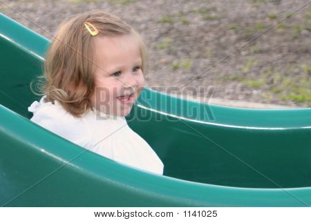 Sliding Board Smile