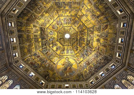 Baptistery Of Saint John, Florence, Italy