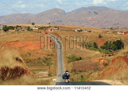 Cycling in Madagascar