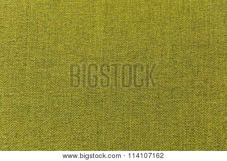 Green fabric, material, cloth for texture, background, pattern, wallpaper