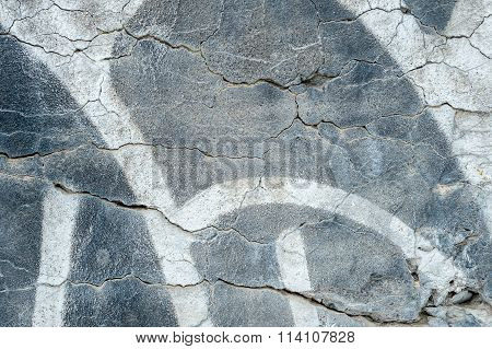 Texture Of A Cement Grey Wall