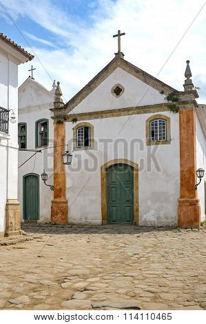 Paraty ancient church
