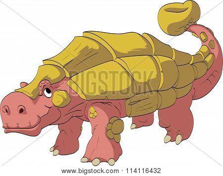 Cartoon Ankylosaur