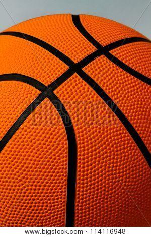 Basketball. Fragment. Pimples. Ball.