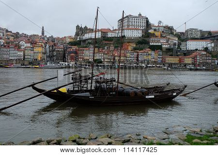Winery Boat in Oporto