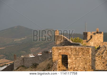 The castle of Marvao