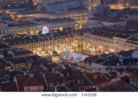 Iluminated Square Lisbon