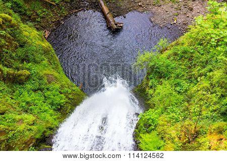 Multnomah Falls Looking Down