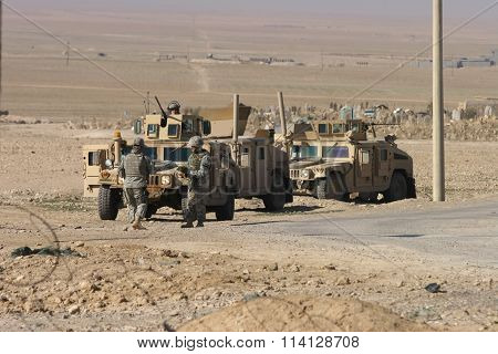Americans Soldiers in Iraq