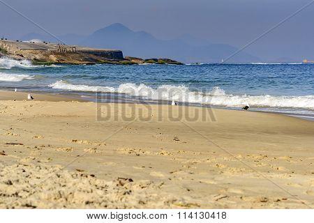 Devil's beach in Ipanema