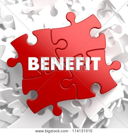 Benefit on Red Puzzle.
