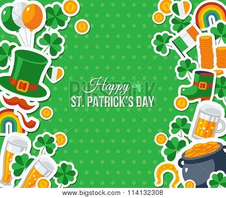 Patricks Day Greeting Card