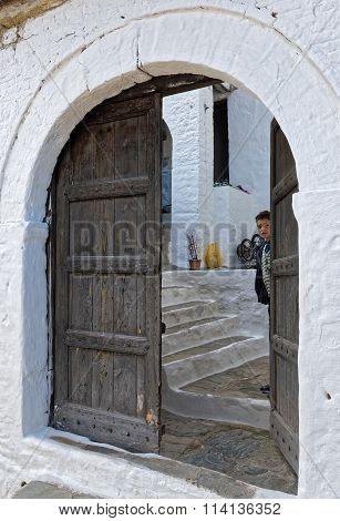 Boy in Albania