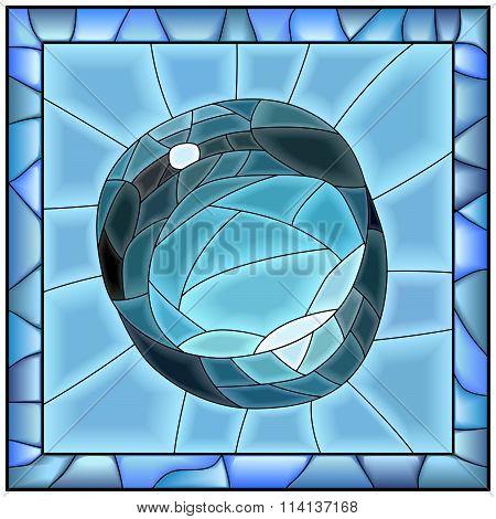 Vector Illustration Of Brilliant Drop Of Water.