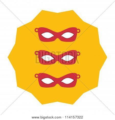 Eyes masks icons