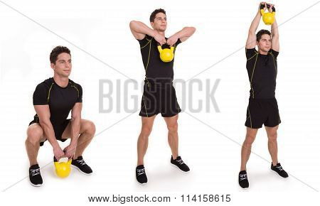 Kettlebell, Clean and Press, Exercise