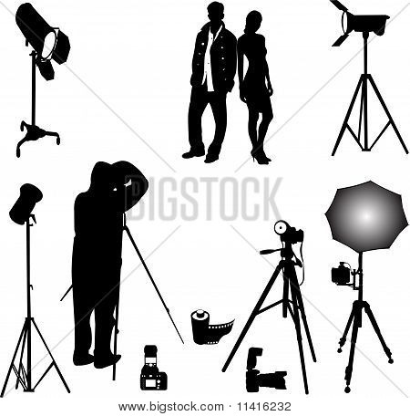 photo session vector