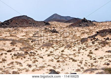 Island Of Los Lobos, Fuerteventura, Canary Islands, Spain