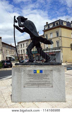 Statue Of Saint Jaques