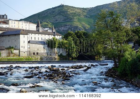 Monastery And River
