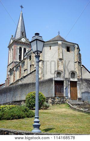 Lamp And Church