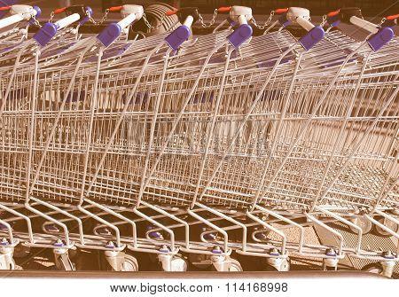 Shopping Carts Vintage