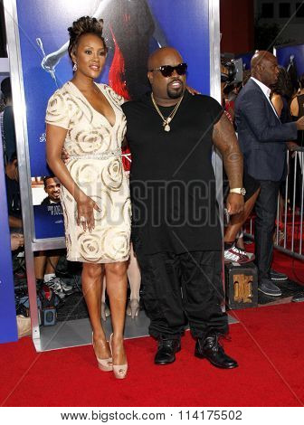 Cee-Lo and Viveca A. Fox at the Los Angeles premiere of