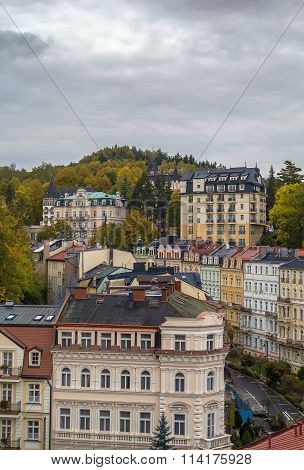 View Of Karlovy Vary, Czech Republic