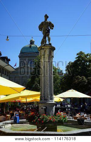 Fountain In Bern