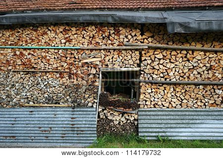 Firewood And Building
