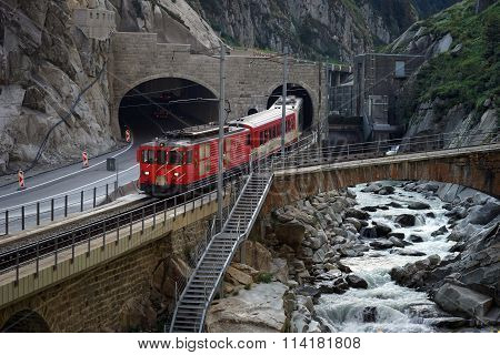 Train And River