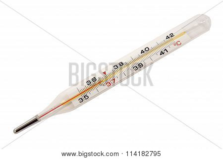 Medical thermometer.