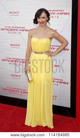 Karina Smirnoff at the Los Angeles premiere of