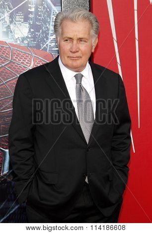 Martin Sheen at the Los Angeles premiere of