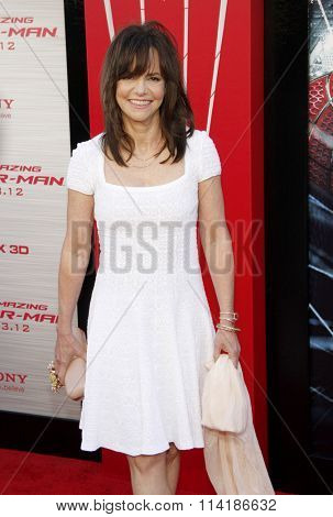 LOS ANGELES, CALIFORNIA - June 28, 2012. Sally Field at the Los Angeles premiere of