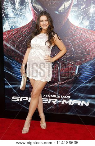 LOS ANGELES, CALIFORNIA - June 28, 2012. Sophie Simmons at the Los Angeles premiere of