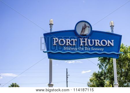 Welcome To Port Huron Michigan