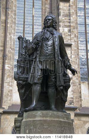 J.S. Bach statue
