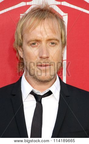 Rhys Ifans at the Los Angeles premiere of