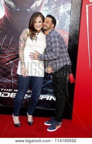 A.J. McLean at the Los Angeles premiere of