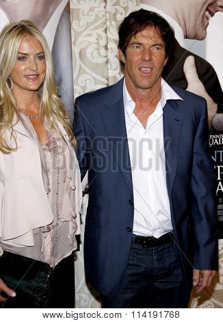 Dennis Quaid and Kimberly Quiad at the Los Angeles Premiere of