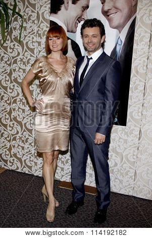 HOLLYWOOD, CALIFORNIA - May 18, 2010. Michael Sheen and Lorraine Stewart at the Los Angeles premiere of