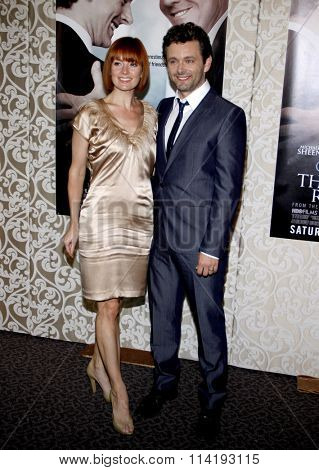 Michael Sheen and Lorraine Stewart at the Los Angeles Premiere of