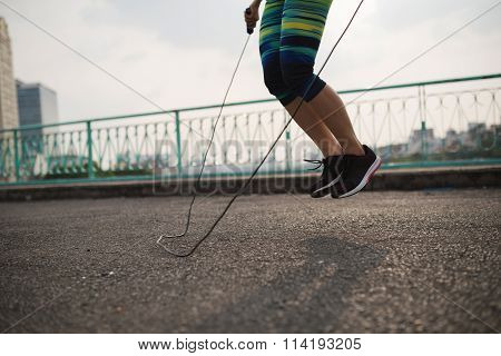 Training with jump rope