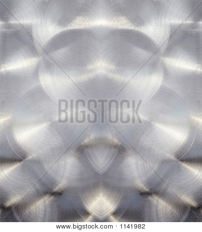 Chrome Stainless Steel Background