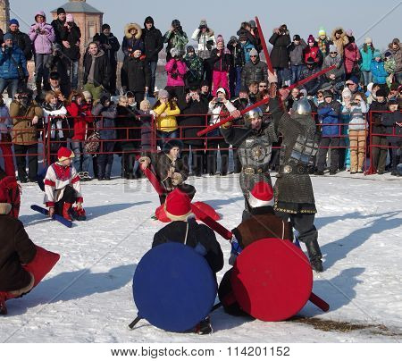 Shrovetide - The Celebration And Folk Festival, Suzdal.