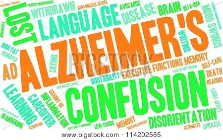Alzheimer's Word Cloud