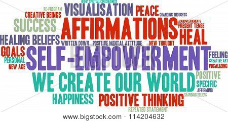 Self Empowerment Word Cloud